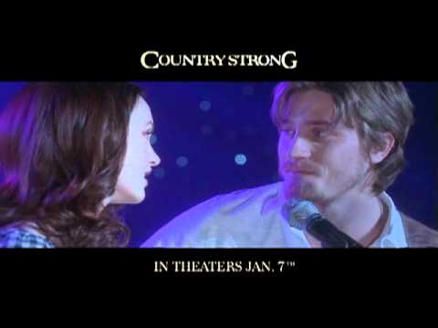 "Leighton Meester & Garrett Hedlund sing ""Give In To Me"" from Country Strong"