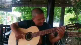 LK Chuyện hoa sim - test guitar gỗ điệp 3.000.000d - 0906391557