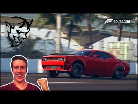 The 9sec Dodge Demon!! | Forza Motorsport 7 | Drag Build