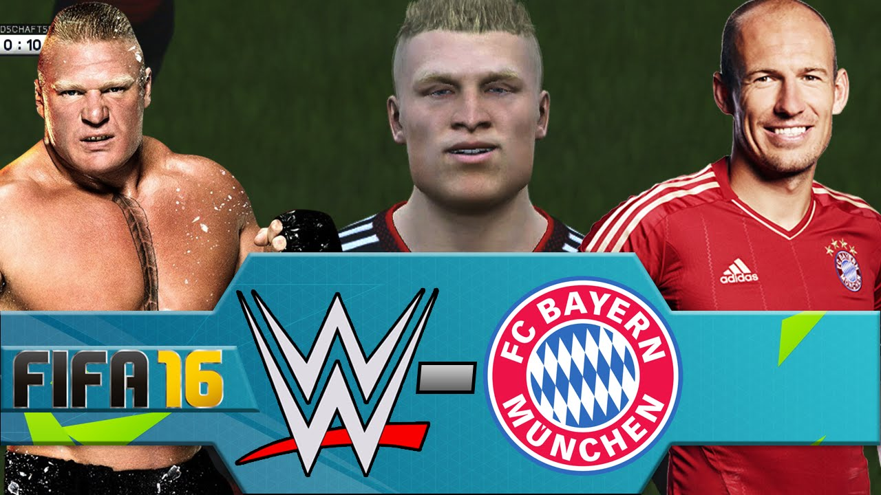 wwe vs fc bayern munich fifa 16 ps4 youtube. Black Bedroom Furniture Sets. Home Design Ideas