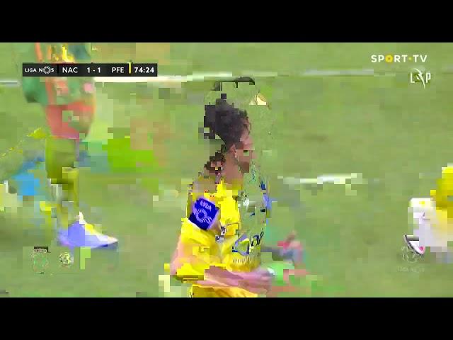 Goal | Golo Eustáquio: CD Nacional 1-(1) Paços de Ferreira (Liga 20/21 #5)