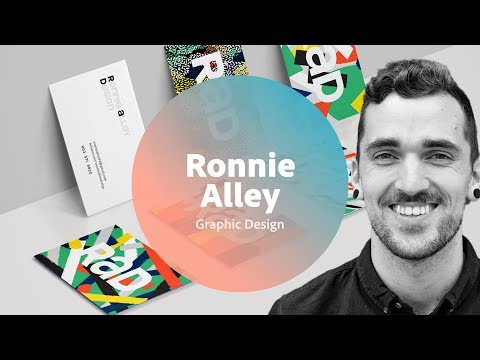 Live Graphic Design with Ronnie Alley - 1 of 3