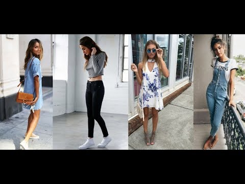 Super Cute Summer Outfits for Teenage Girls 2018&2019 2