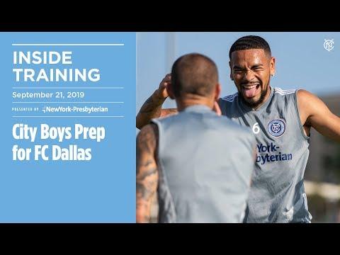 INSIDE TRAINING | City Boys Prep for FC Dallas
