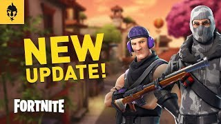 FORTNITE NEW PATCH - HUNTING RIFLE, LUCKY LANDING AND NEW CHALLENGES!