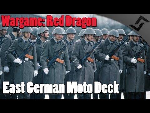 Wargame: Red Dragon - East German Moto Deck Review