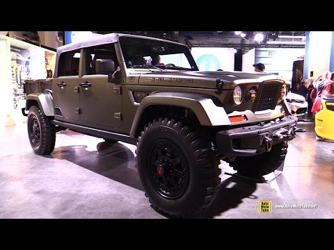 Jeep Crew Chief 715 Concept - Exterior and Interior Walkaround - 2016 SEMA