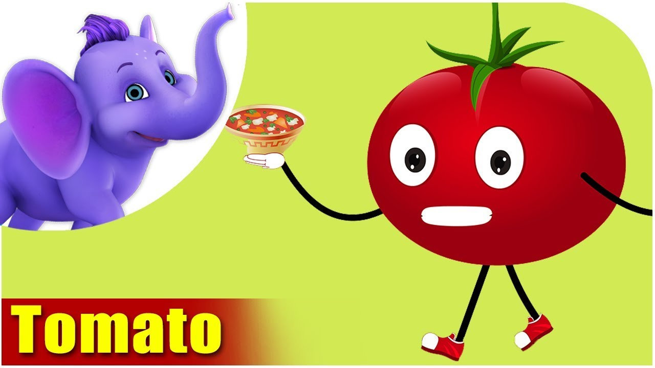 Tomato - Vegetable Rhyme - Appu Series