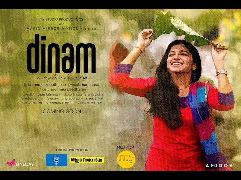 Dinam | Mizhivarnoru Tharame Malayalam Music Video Song 2015