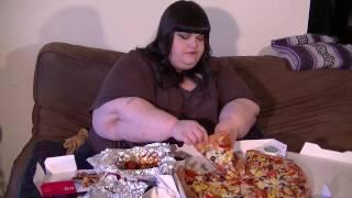 papa john s pizza and wings collab with mukbang mama eating show