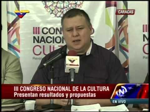 Ministro Reinaldo Iturriza y José Jesús Gómez (IAEM), rueda de prensa 7 de octubre de 2014