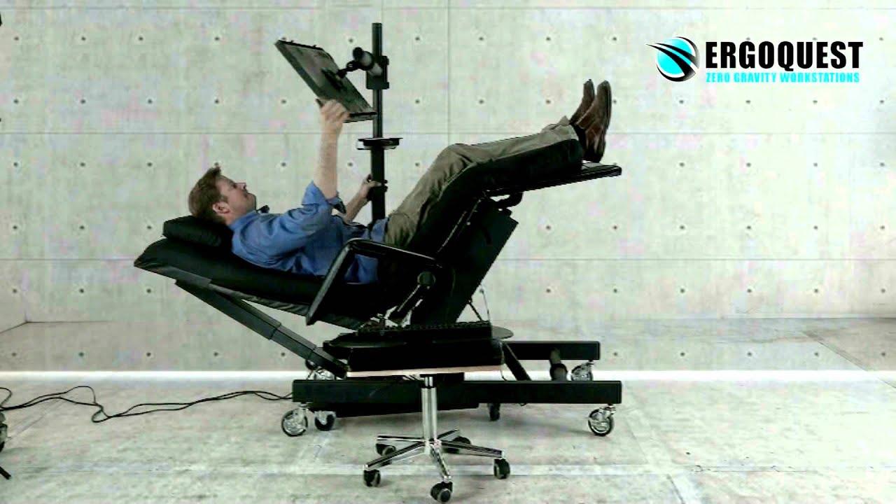 Zero Gravity Chair 4 with Height Adjustable MonitorLaptop