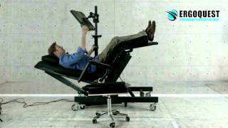 Zero Gravity Chair 4 With Height Adjustable Monitor Laptop