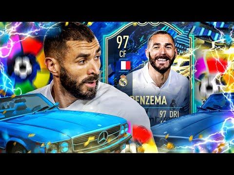 FIFA 21 : TOTS BENZema 97 Squad Builder Battle 😱🔥
