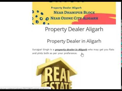 Property Dealer in Aligarh SurajPal Singh - JustBaazaar Business Directory Aligarh