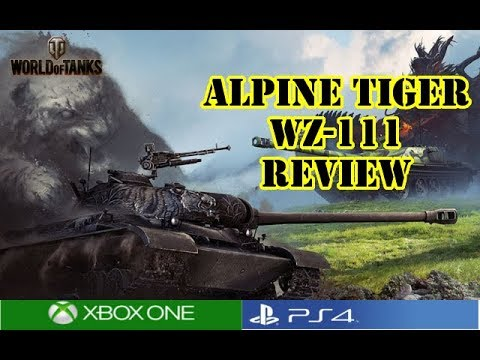 World of Tanks - Alpine Tiger WZ-111 Review