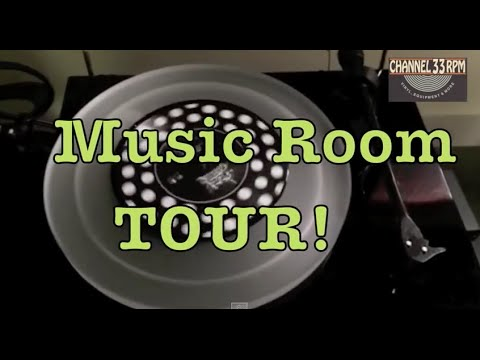 Intro to the Vinyl Community and Music Room Tour! (vinyl records, turntables)