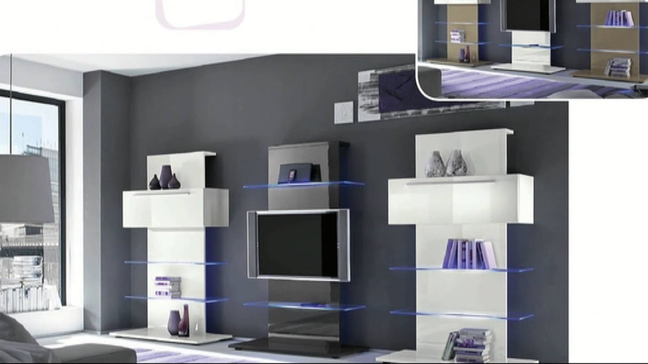 Soggiorno Moderno  Porta tv moderniMobili Cannata Niscemi  YouTube