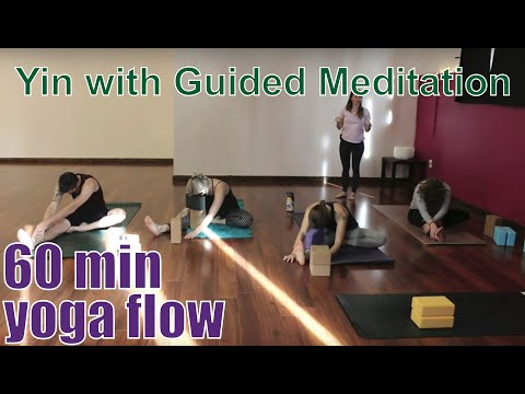 60 Minute Yoga Class - Yin With Guided Meditation