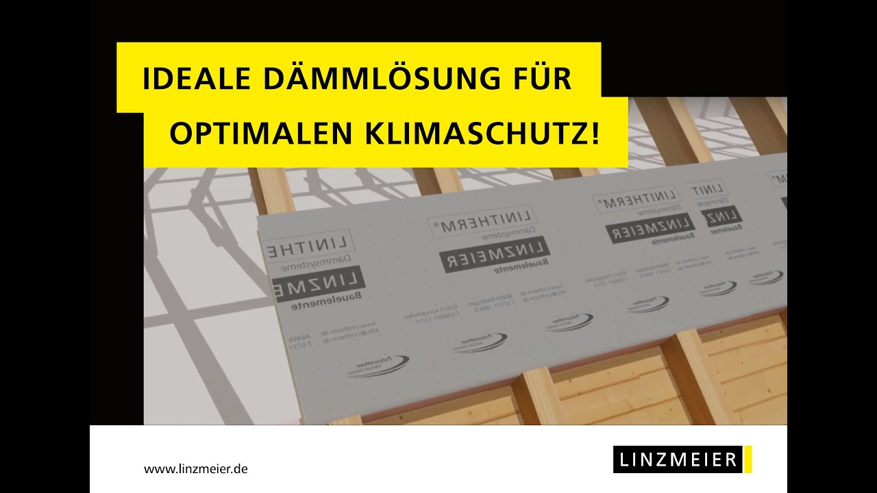 linzmeier dachd mmung mit linitherm pal sil t youtube. Black Bedroom Furniture Sets. Home Design Ideas