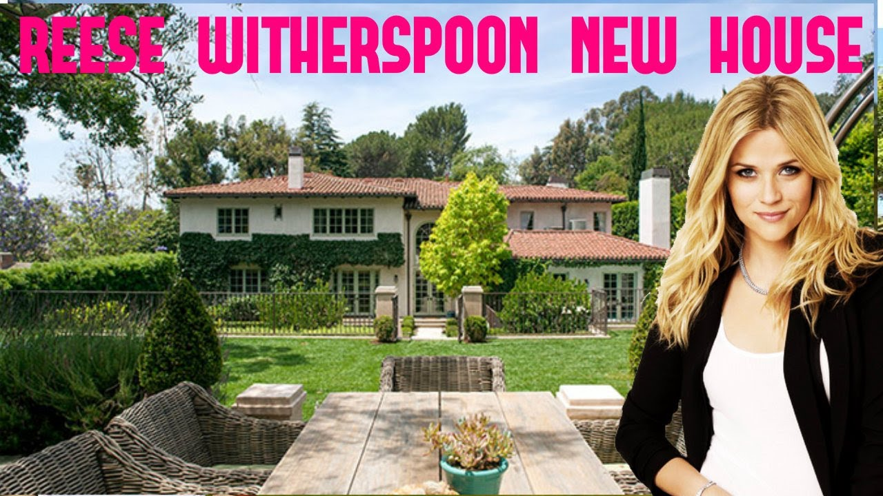 Reese Witherspoon House In L A 2017 Youtube
