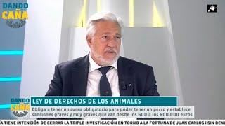 La crítica de Julio Ariza sobre la nueva ley de derechos de los animales