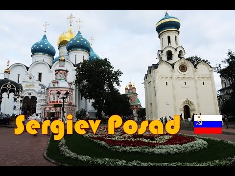 Sergiev Posad – Best Day Trip from Moscow | Travel Vlog #21