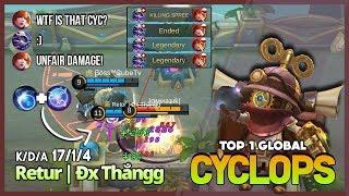 3 vs 5? I think like that! Top 1 Global Cyclops, Top 1 Global Grock, Top 7 Global Rank ~ MLBB