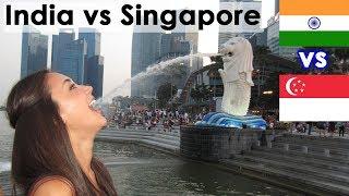India vs Singapore Country Comparison (2018)