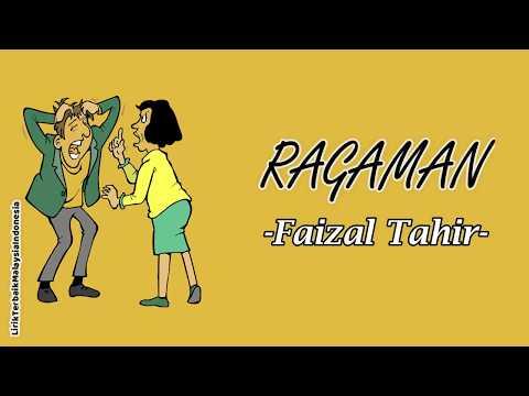 Faizal Tahir - Ragaman Lirik