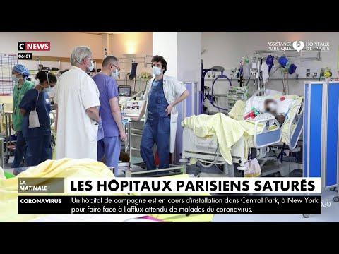 Coronavirus: les hôpitaux parisiens saturés