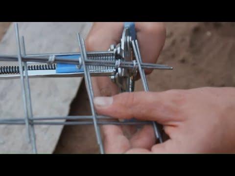 Сделай сам. Инструмент для Габионов, размеры сетки, инструмент: скобозажимной, болторез и др.