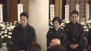 昨年12月5日に57歳で亡くなった歌舞伎俳優中村勘三郎さんの一周忌...