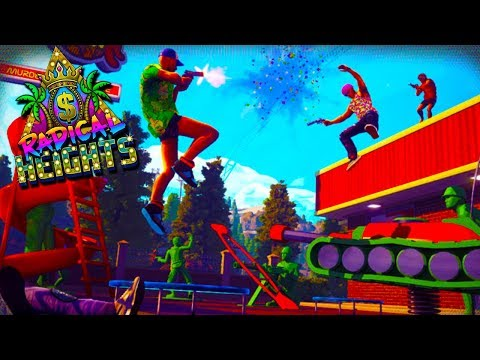 SPAS 12 HYPE! - Radical Heights Battle Royale Gameplay!