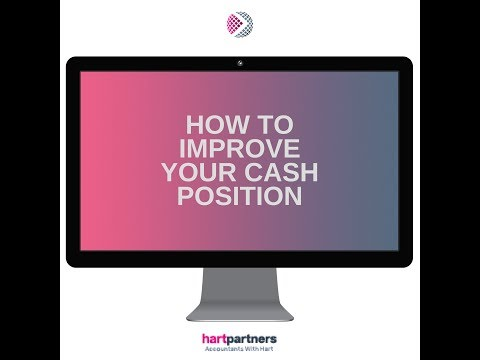 HartPartners - How to Improve Your Cash Position