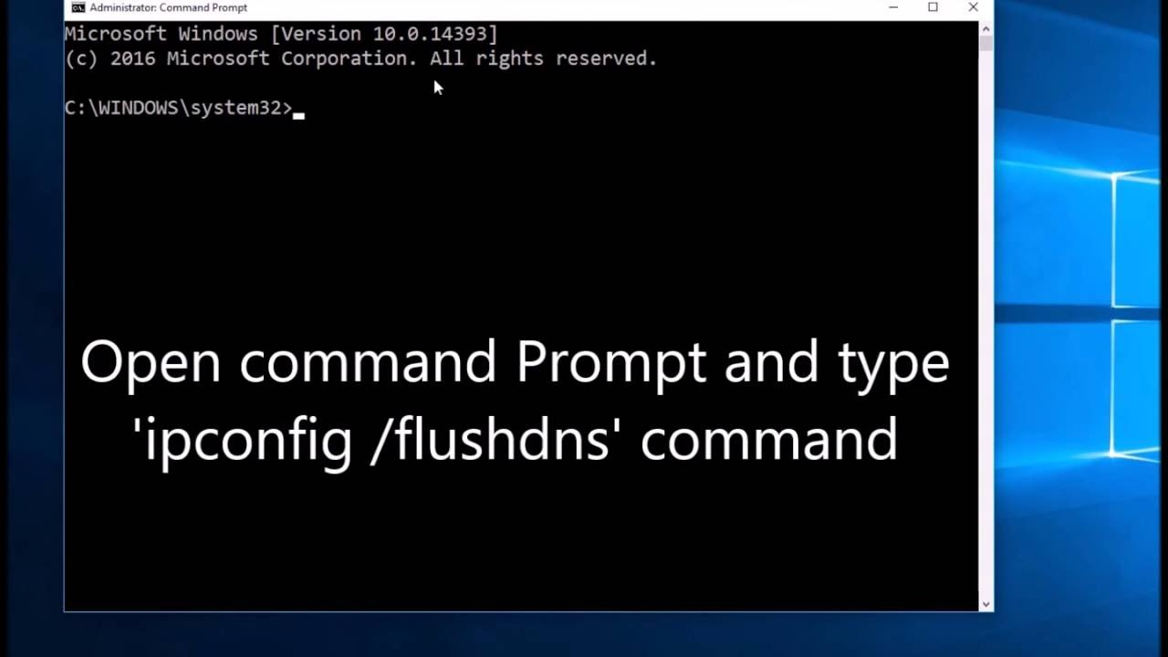 How to clear or flush DNS cache on your computer  Flush DNS command in  windows 24
