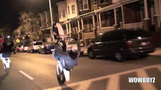Wild Out Wheelie Boyz - Hottest In the City - #BikeLife Baltimore
