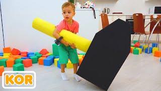 컬러 큐브 블라드와 니키 플레이   아이들을위한 컬렉션 비디오
