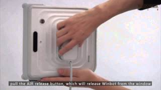 Winbot Serie 7 - El Unico Limpiador de Vidrios de su estilo. Live Smart, Enjoy Life (Español)