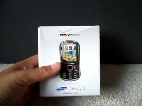Verizon Wireless Samsung Intensity 2 (SCH-U460) Silver