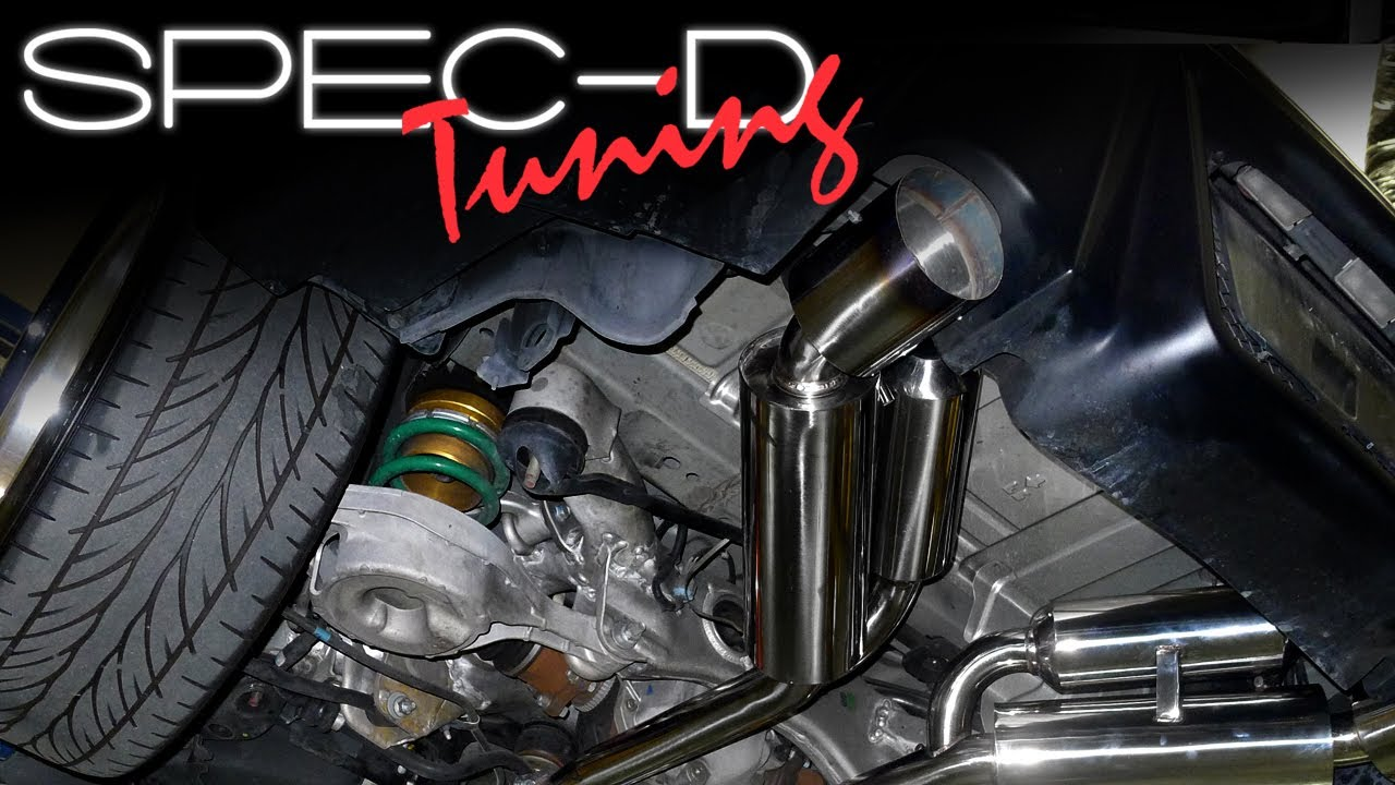 specdtuning installation video 2003 2007 infiniti g35 coupe catback exhaust