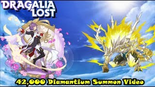 42,000 Diamantium Summons Beauty In Motion - Dragalia Lost