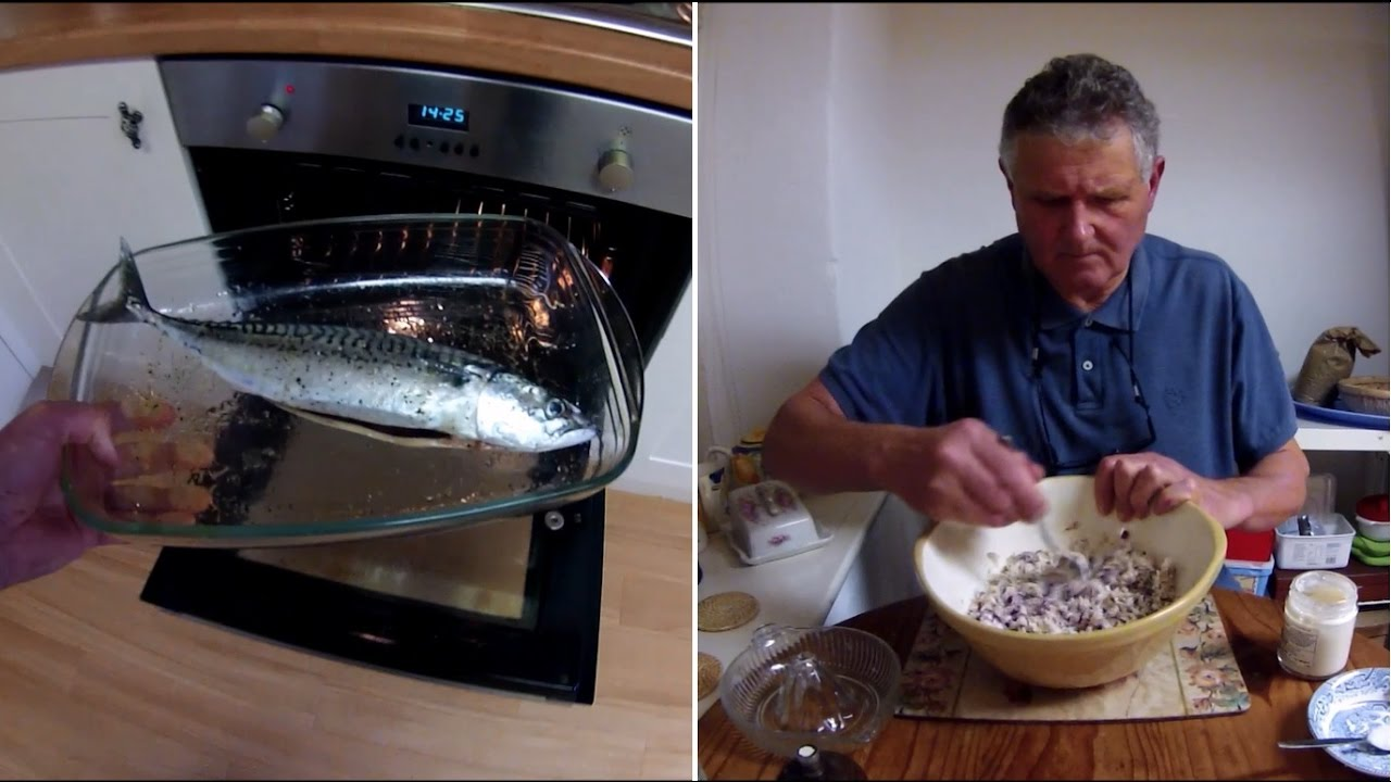 Catch and cook fish and shellfish making mackerel p t for Catch and cook fish
