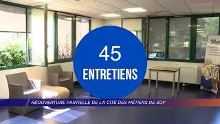 Yvelines | Réouverture partielle de la cité des métiers de Saint-Quentin-en-Yvelines
