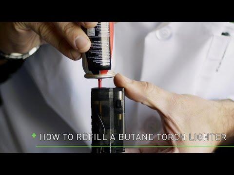 How to Fill a Butane Torch Lighter