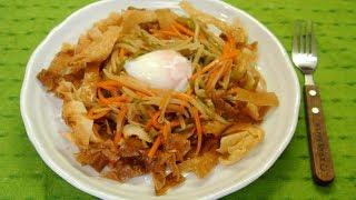 Veggy Crispy Chow Mein-like (No Talk No BGM 64)