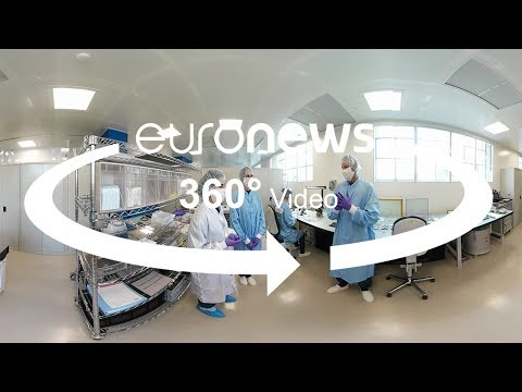 Inside one of the cleanest cleanrooms in Europe