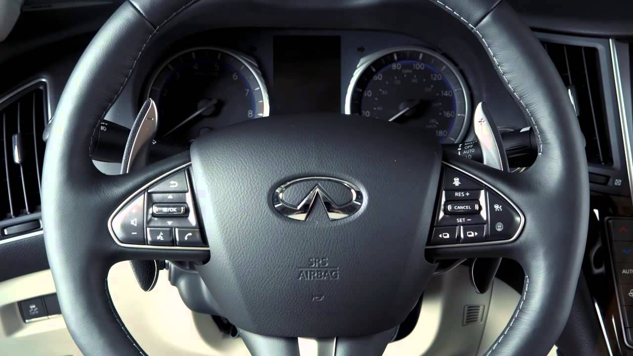 2014 infiniti q50 manual shift mode automatic transmission only rh youtube com 2014 infiniti q50 manual transmission 2014 Mercedes Manual Transmission