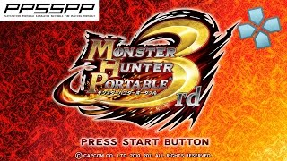 Monster Hunter Portable 3rd HD - PSP Gameplay (PPSSPP) 1080p