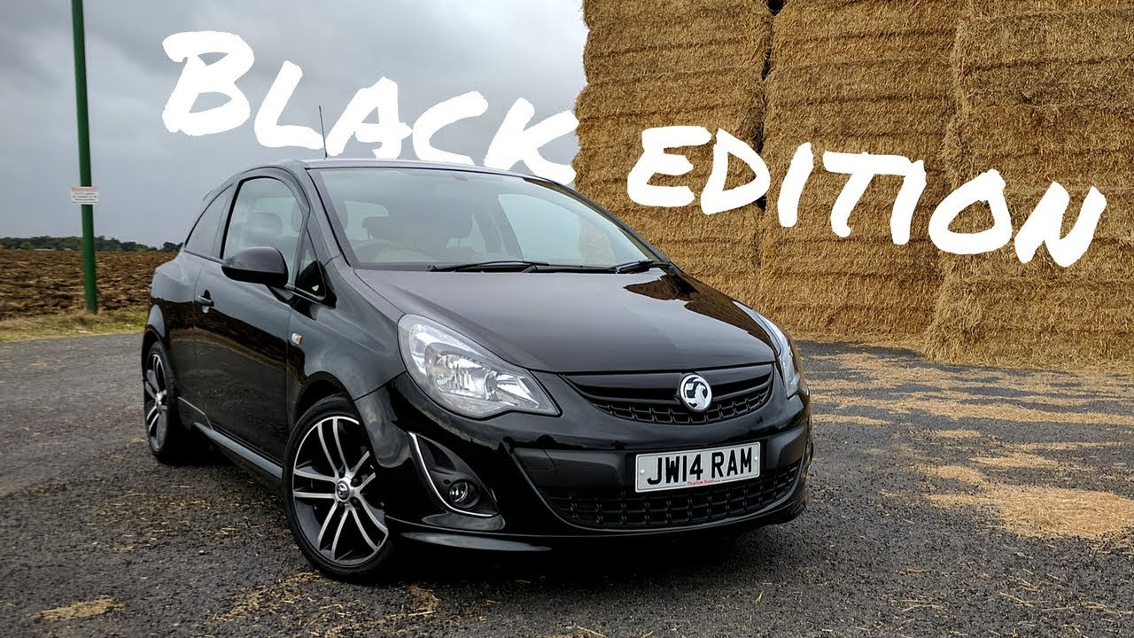 vauxhall corsa black edition 1 4 turbo review youtube. Black Bedroom Furniture Sets. Home Design Ideas